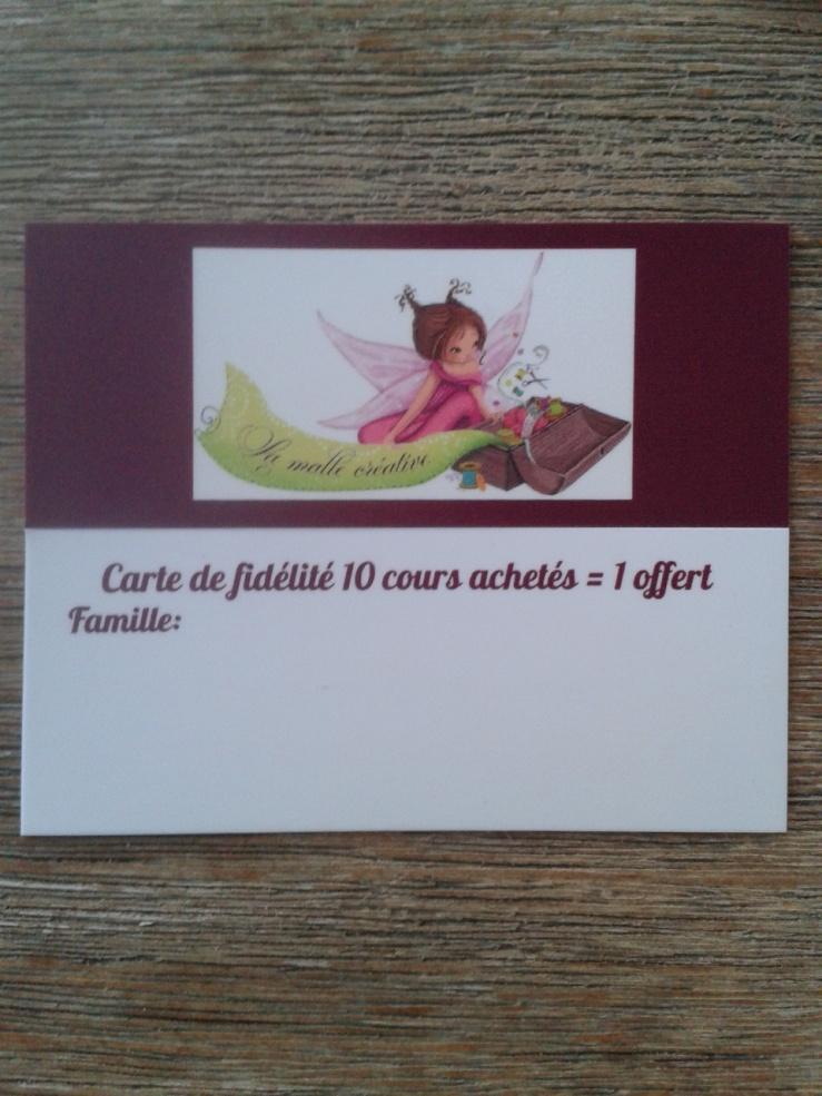 cartes fidélités